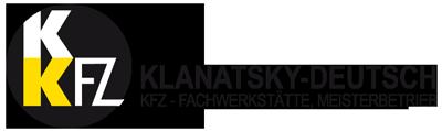 KFZ Klanatsky Deutsch Logo